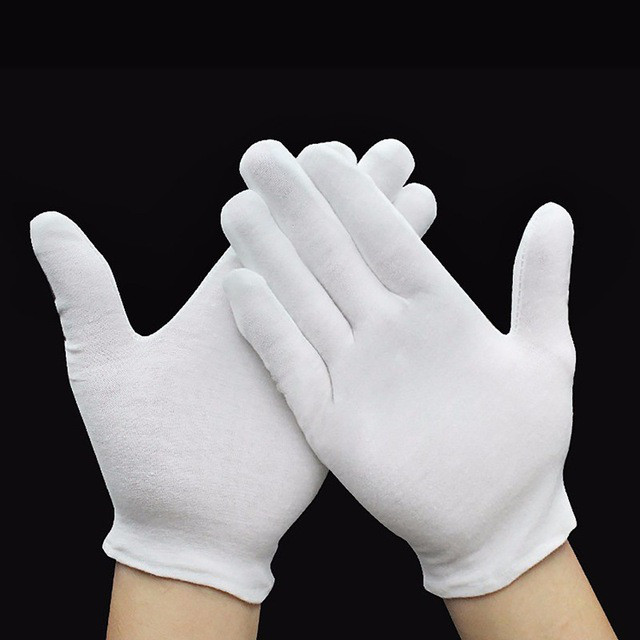 Low MOQ for 100 Cotton Gloves For Eczema - white cotton Moisture spa gloves and socks for eczema Item No.: HMD-5008 – Hongmeida