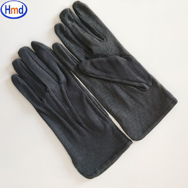 Good User Reputation for Thin White Inspection Cotton Gloves For Eczema - White Parade Band Uniform Formal Ceremony cotton gloves with dots on palm Item No.: HMD-30 – Hongmeida