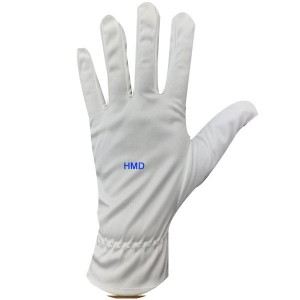 The microfiber polyester safety working kill covid virus cotton glove