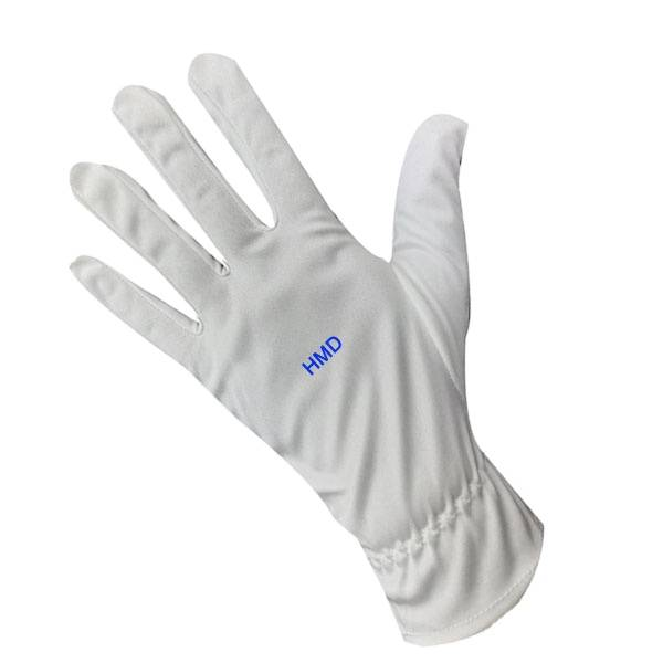 Microfiber Dust free Cleaning working safety hand  Gloves
