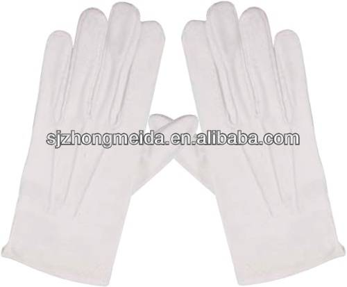 working safety Uniform for marching band glove Martial band gloves Military glove