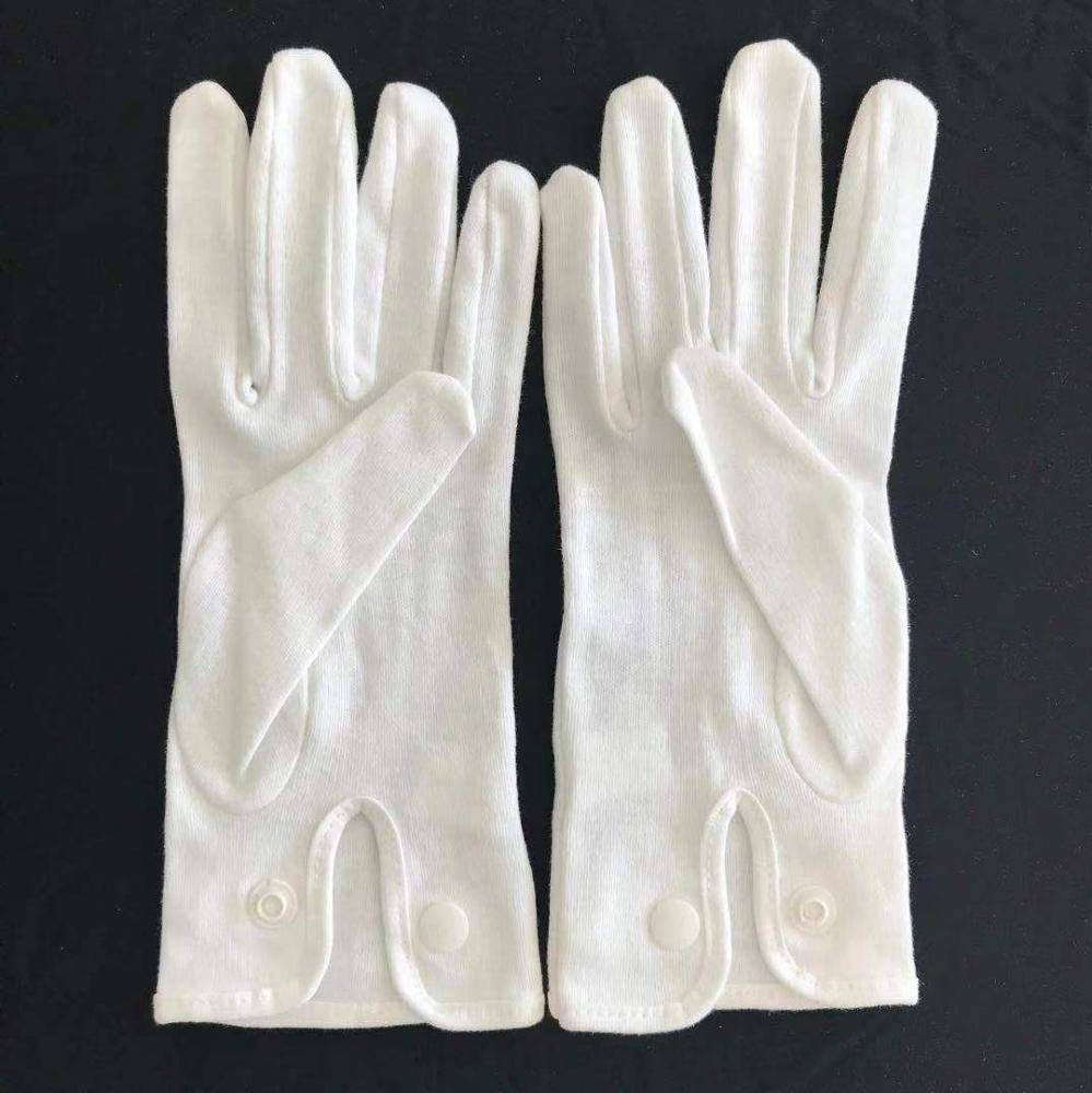 Cotton Glove white ceremonial gloves