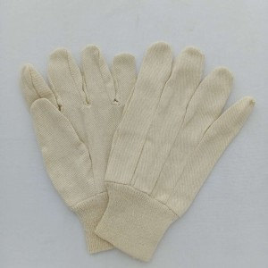 standard cotton canvas working gloves