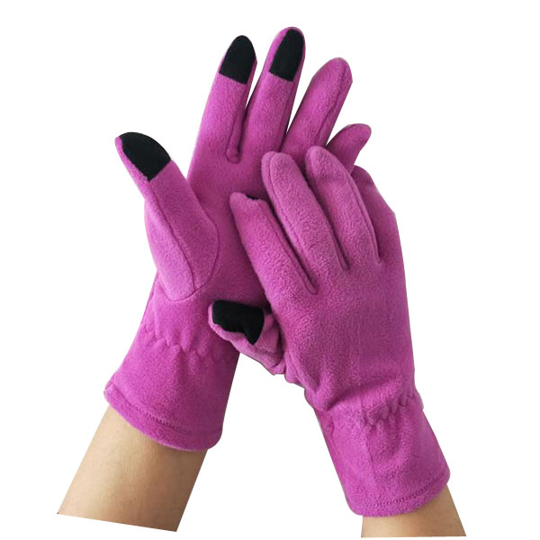 Manufacturing Companies for Vintage Wedding Gloves - Protective Work anti-pilling polar fleece warm glove – Hongmeida