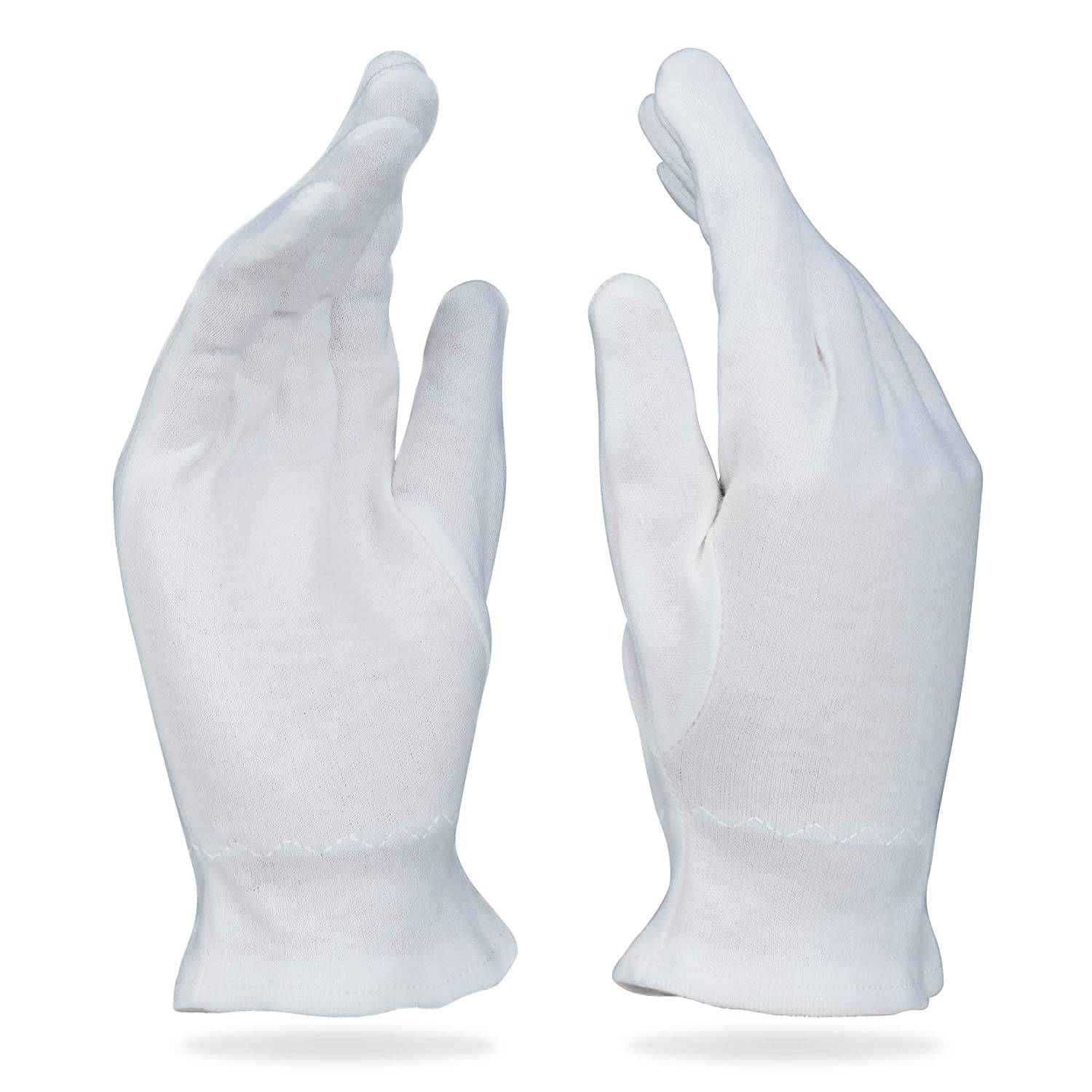 OVERNIGHT BEDTIME COTTON MOISTURIZING HAND COTTON GLOVES
