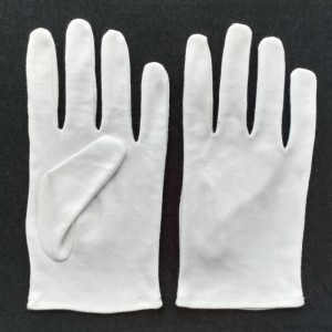 safety hand gloves in cottan