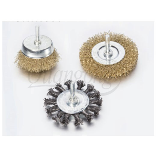 Crimped Bench Wheel Brushes LJWR0901