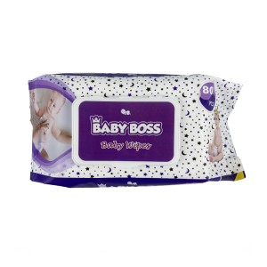 Colorful design baby wipes manufacturer 80pcs packing for baby use