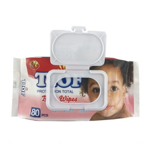 Hot selling popular design baby wipes without alcohol