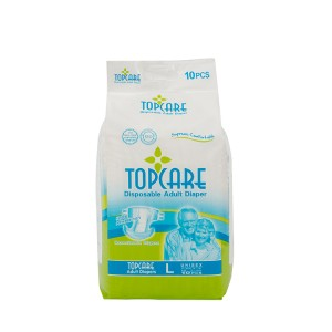 Wholesale top care hospital supplier adult diaper elder use