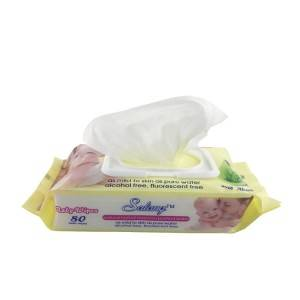 Brand Of OEM 100% Pure Water Stock Wet Wipes For Baby Cleaning Hand Body Us