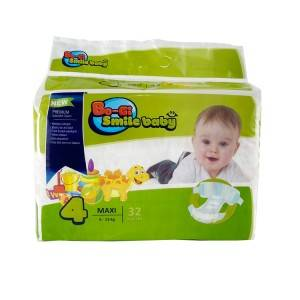 Factory high quality OEM ultra thin breathbale disposable baby diaper pants