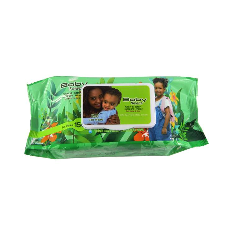 Custom Wet Wipes Dispenser Plastic Box Individually wrapped baby wet wipes Featured Image