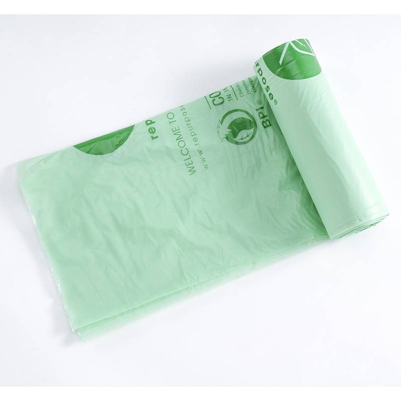 2018 Good Quality Compostable Plastic Garbage Bags - Kitchen Trash bag – Radar