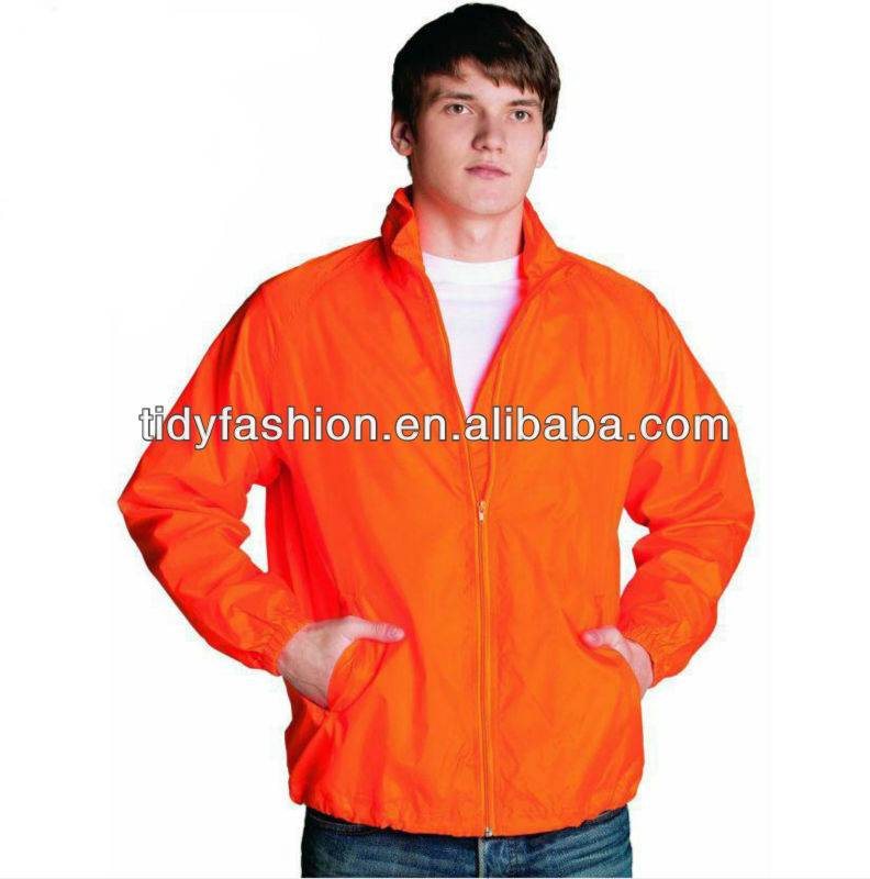 promotion polyester windbreaker jacket