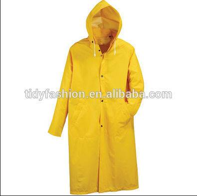 Durable Safety Yellow Overall Workwear For Men