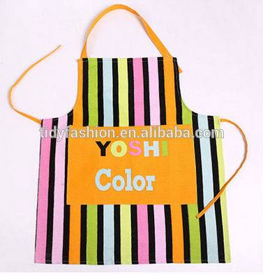 Allover printing Fabric printed aprons