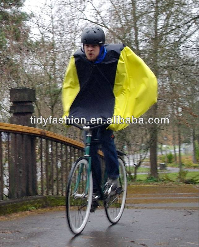 Durable Fashion Cute Raincape For Bicycle Rain Ponch