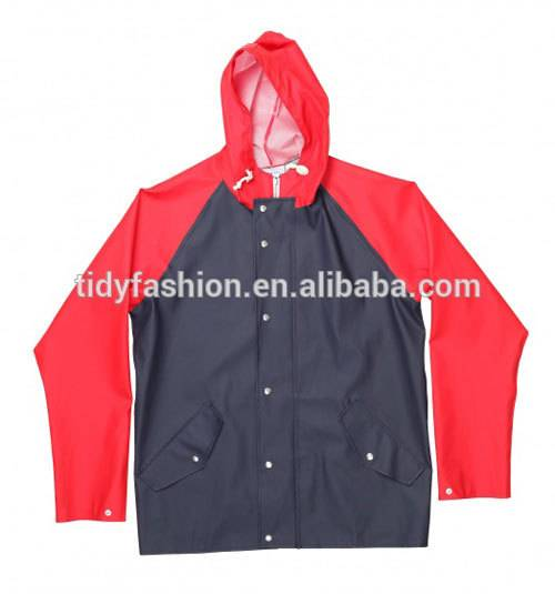 Hot-selling Children PU Raincoat