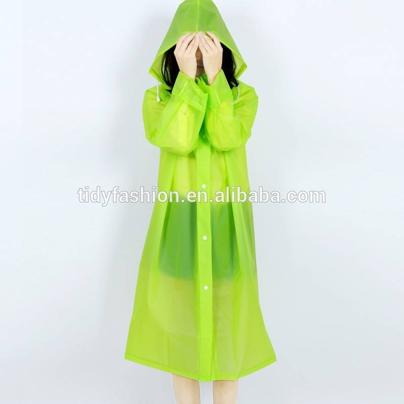 Rubber PVC Rainwear For Women