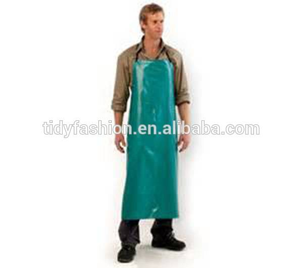 100% Original How To Wear Apron - Durable Easy Clean Wholesale Waterproof PVC Apron Butcher – Tidy
