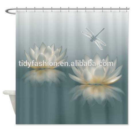 Custom PVC 3D Shower Curtain