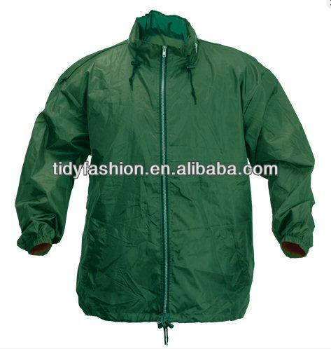 promotion polyester mens windbreaker jacket