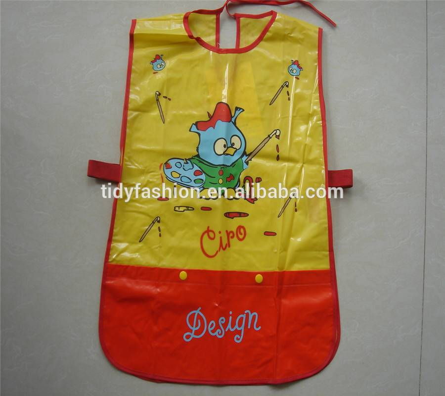 Cheap Kids Handmade Plastic Custom Apron