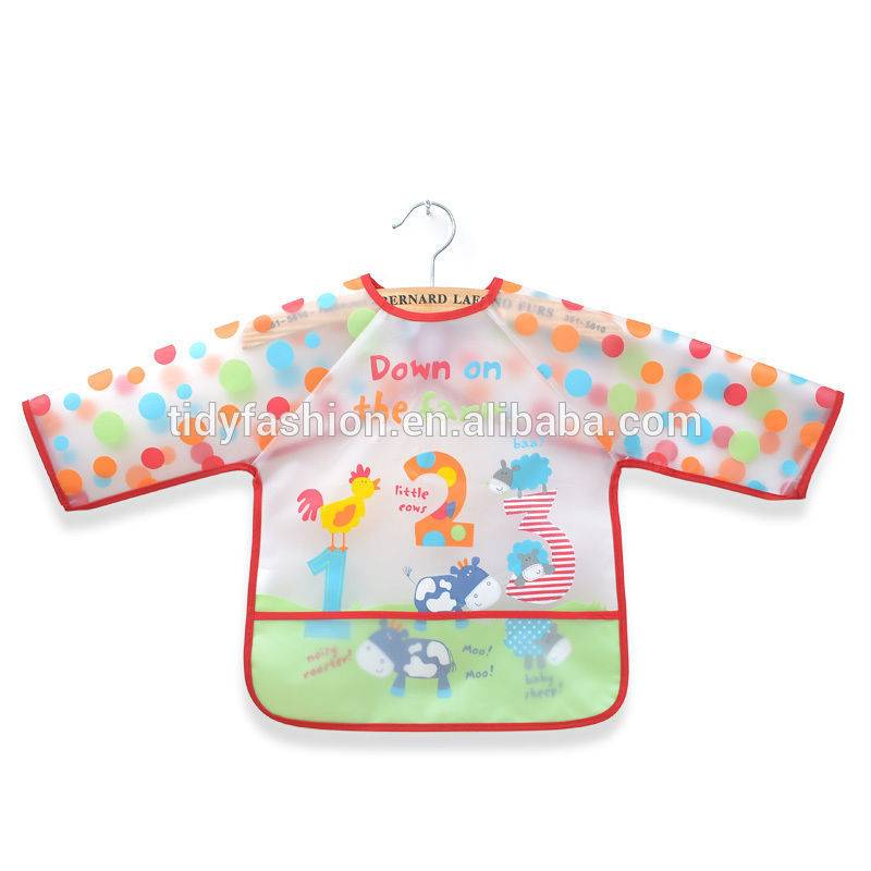 China Manufacturer for 1950s Aprons For Sale - Plastic Children Painting Apron – Tidy