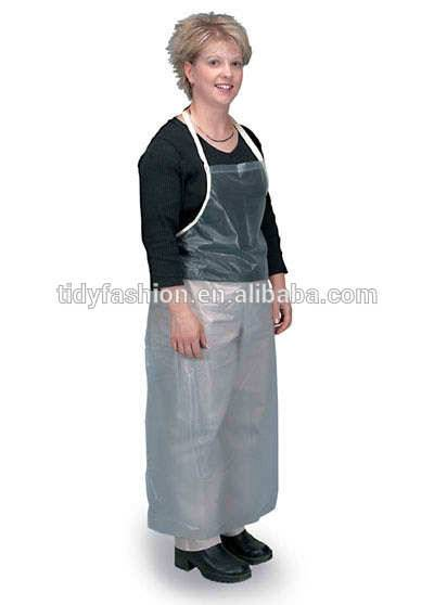 Best Price for Funny Kitchen Aprons For Men - Logo Available Plastic Apron PVC Apron Kitchen Apron – Tidy