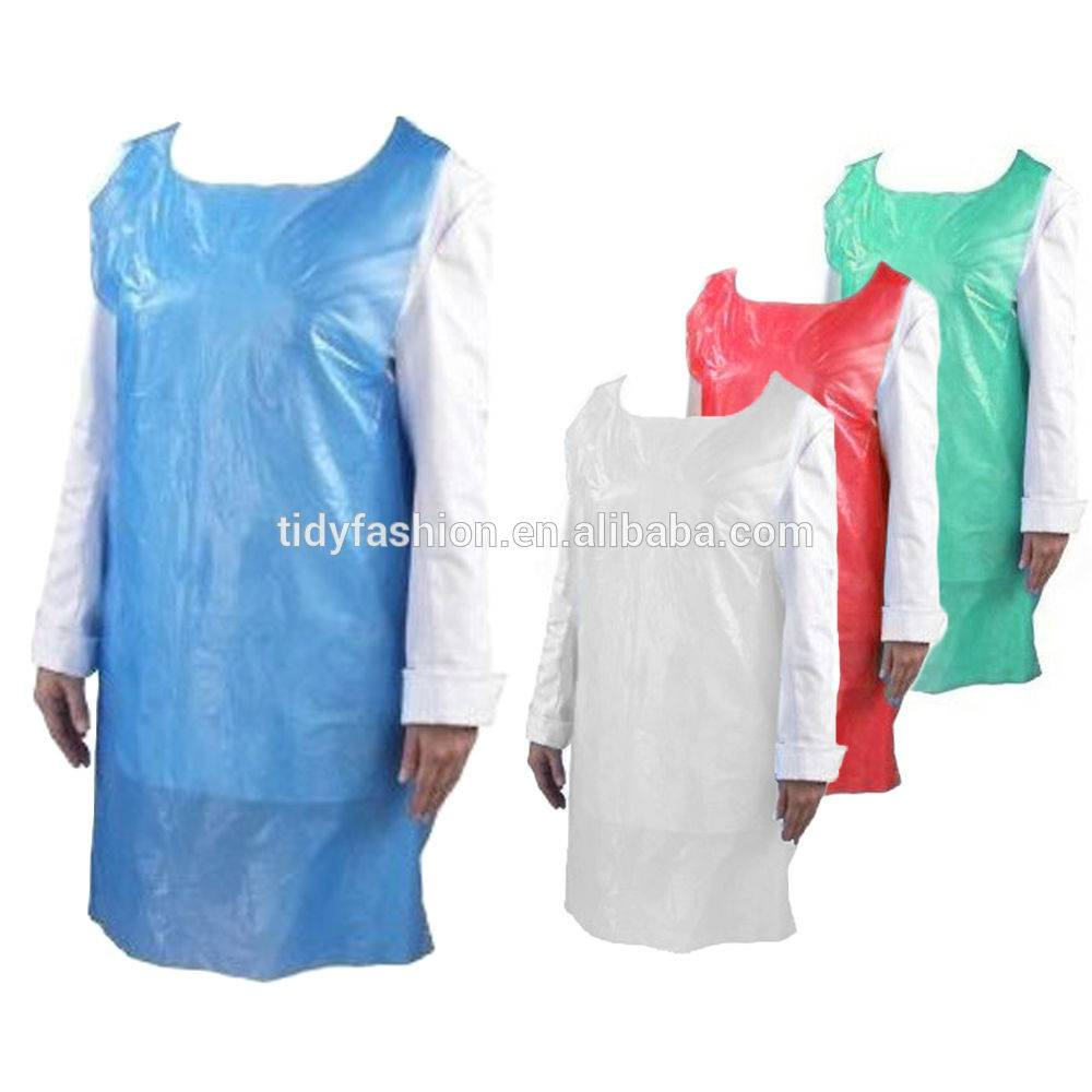 Hot sale Bib Apron - Lightweight PE Plastic Disposable Apron – Tidy