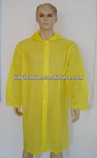Fashion EVA/ PEVA Poncho Raincoat For Promotion