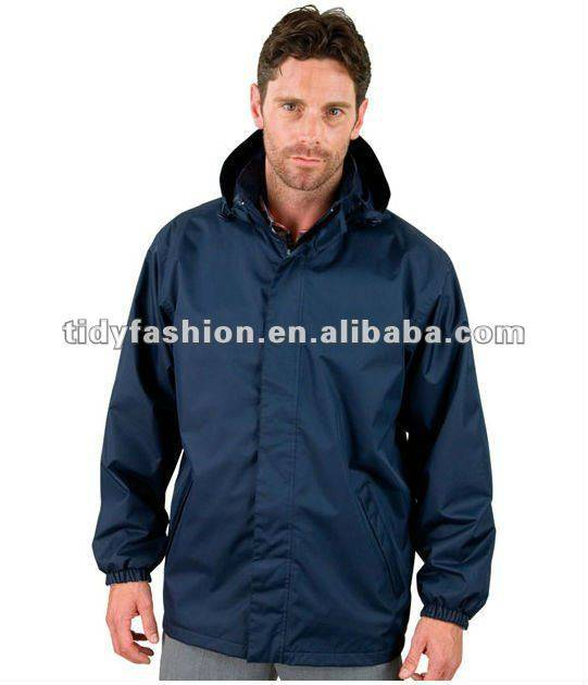 cheap polyester plain windbreaker jacket