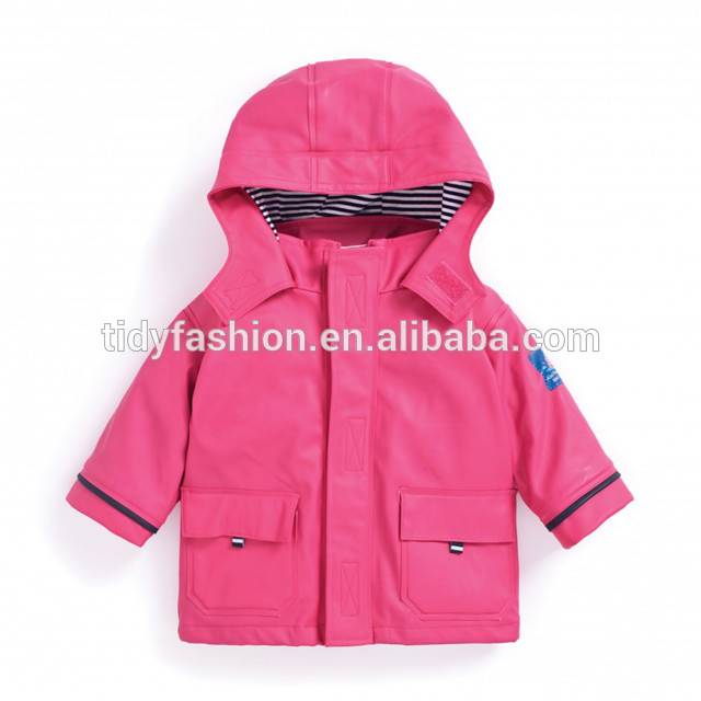 OEM manufacturer Raincoat Store - Waterproof PU Raincoat For Kids – Tidy