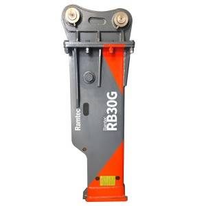 Manufactur standard Rock Grinder Attachment For Excavator - Silenced Type Breaker RB30G – Ramtec
