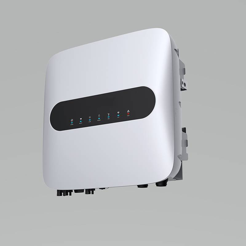 2020 High quality Hybrid Inverter System - 10 kw hybrid three phases inverter – Reeco detail pictures