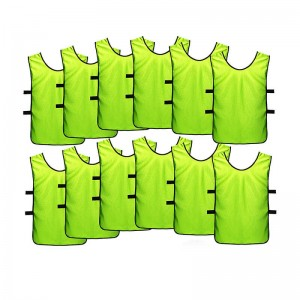 Kids Jerseys Scrimmage Training Vests Football ...