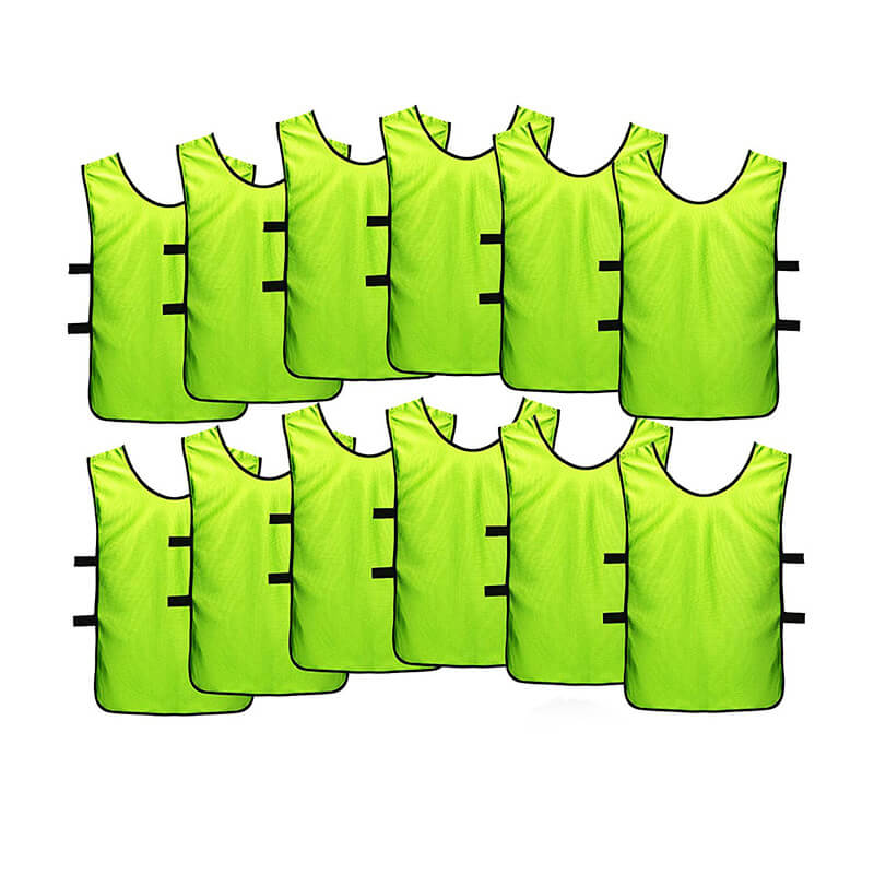 Kids Jerseys Scrimmage Training Vests Football Vest Mesh Breathable Bibs for Volleyball Soccer Basketball Featured Image