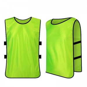 Kids Jerseys Scrimmage Training Vests Football Vest Mesh Breathable Bibs for Volleyball Soccer Basketball