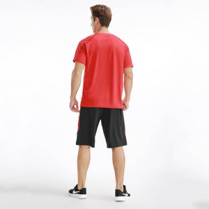 In Stock Sports t-shirt Blank Running Quick Dry Men T Shirt for Marathon