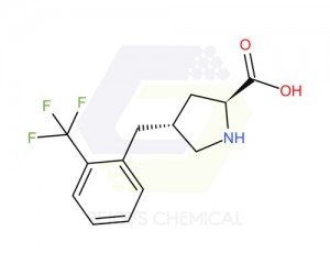 1049981-50-1 | (2S,4R)-4-(2-(trifluoromethyl)benzyl)pyrrolidine-2-carboxylic acid