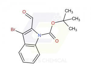 1346156-91-9 | Tert-butyl 3-bromo-2-formyl-1h-indole-1-carboxylate