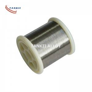 Manufacturer for Alloy 45 - Copper Nickel CuNi23 Stranded Resistance Wire for Heating – TANKII