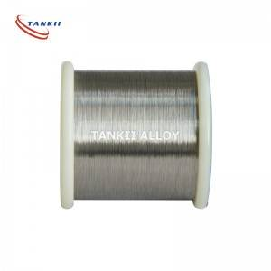 Copper Nickel CuNi44 Alloy Wire for Wirewound Resistors