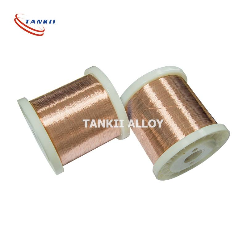 CuNi6 Copper Nickel Resistance Alloy Wire