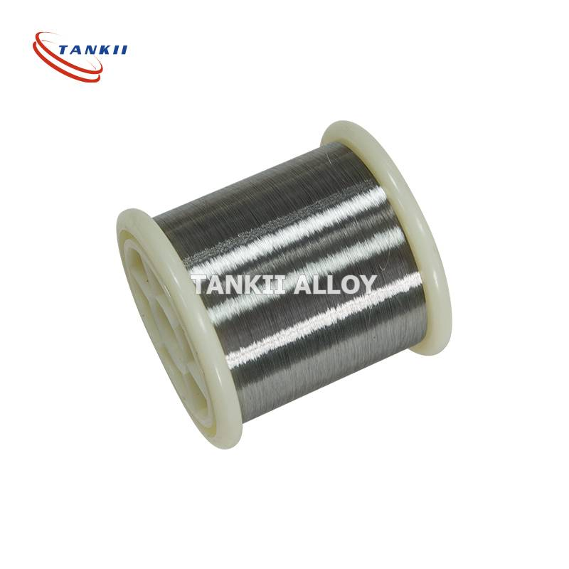 Cu-Ni Low resistance CuNi23 (alloy 180) Copper Nickel Alloy Wire / Flat Wire