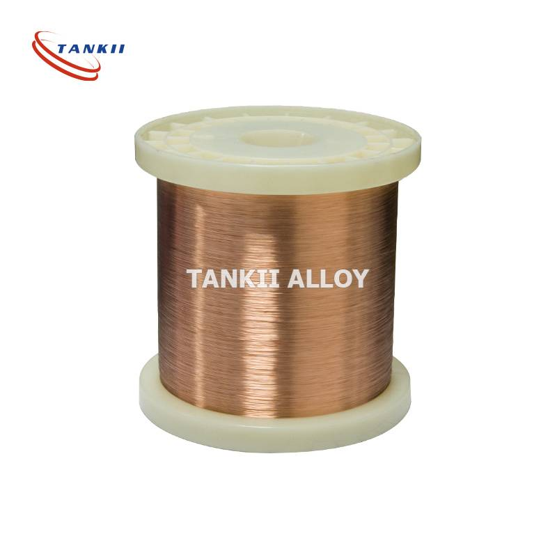 Manganin 130 CuMnNi alloy manganin resistance wire for precision wire wound resistors