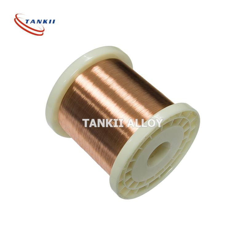 Manganin wire 0.08mm to 10mm 6J13, 6J12, 6J11 6J8 used in the manufacture of resistor