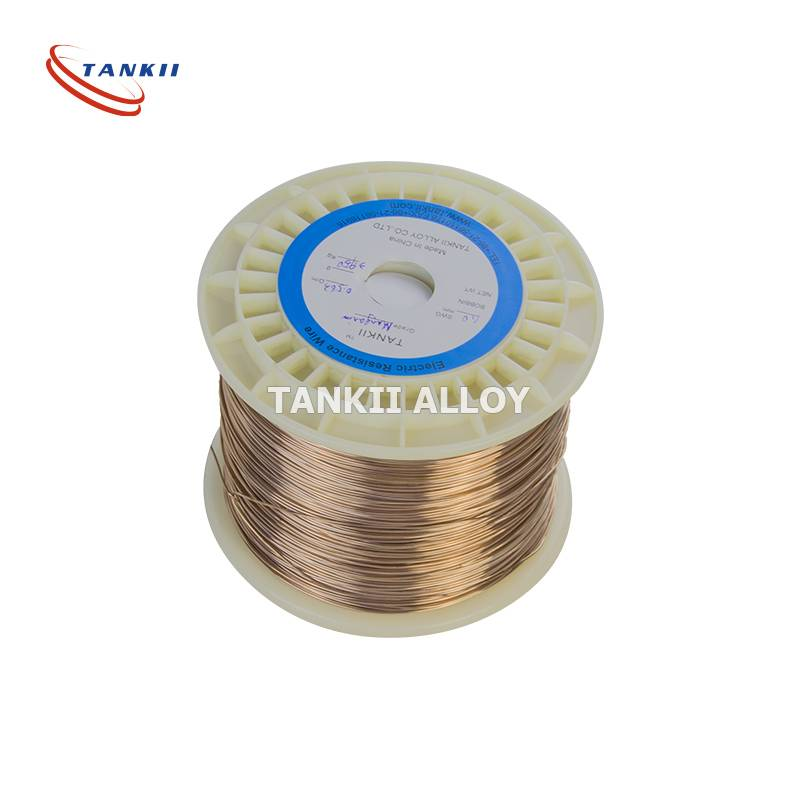manganese resistance wire for electrical and electronic components