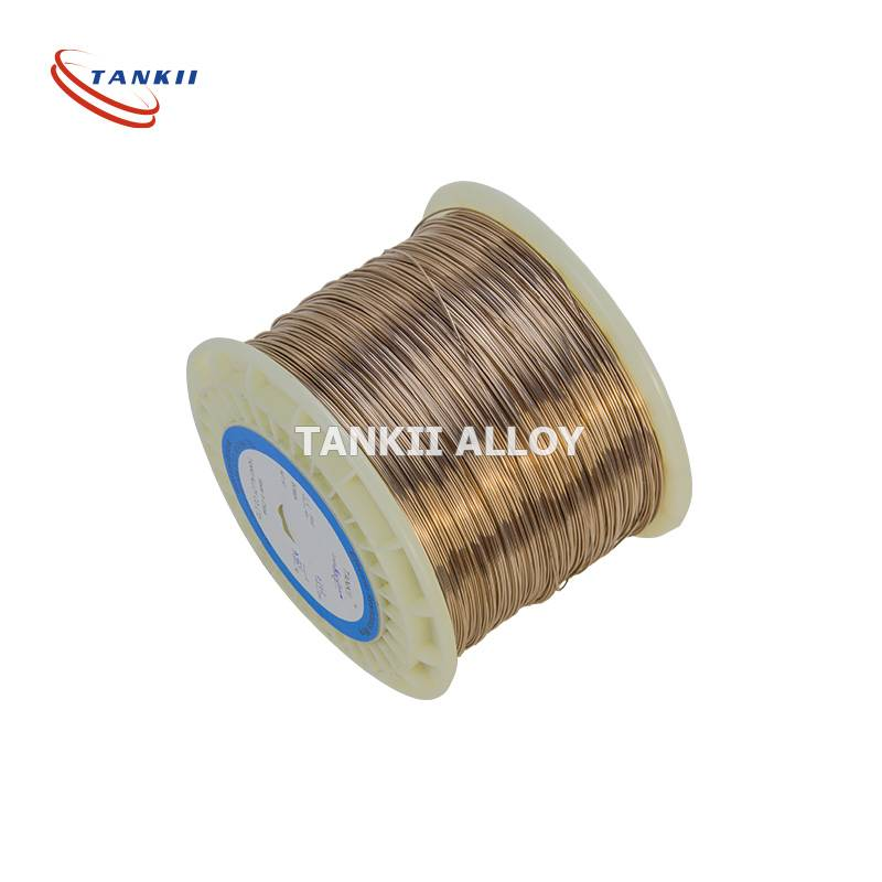 Alloy 290/Manganin 43 manganese copper-manganese-nickel alloy wire for precision wire wound resistors